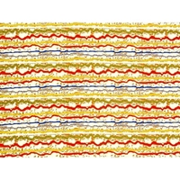 Scribble Stripe Futon Cover