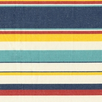 Seaside Stripe Nautical Futon Cover