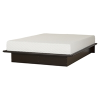 Step One Platform Bed - Mattress, Chocolate