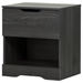 Holland Nightstand - 1 Drawer, Gray Oak - SS-10397