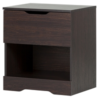 Holland Nightstand - 1 Drawer, Havana