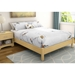 Step One Platform Bed in Natural Maple - SS-3013