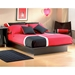 Step One Low Profile Platform Bed in Black - SS-30702