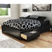 Step One Full Mate's Bed in Black - SS-3107211