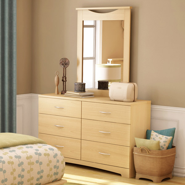 Step One Natural Maple 6-Drawer Dresser - SS-3113010