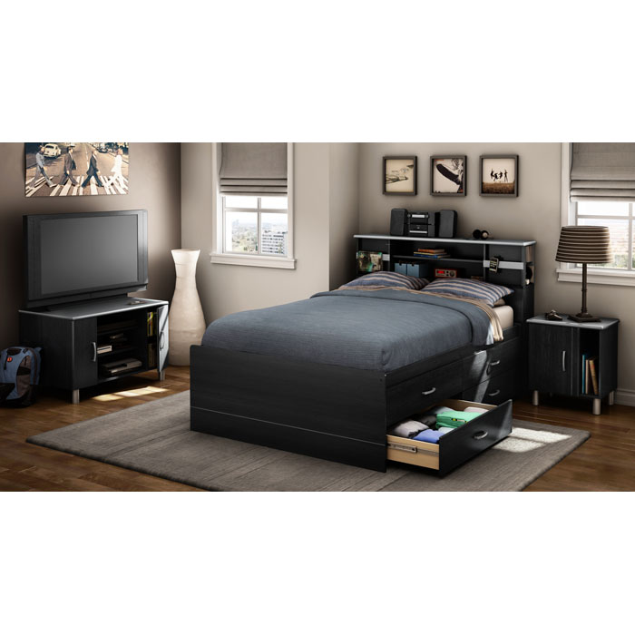 Cosmos Modern Full Captain's Bed - SS-3127209