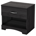 Step One Nightstand - 1 Drawer, Gray Oak