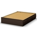 Step One Full Mate's Bed in Chocolate - SS-3159211