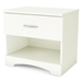 Step One Contemporary White Nightstand - SS-3160062