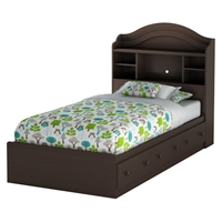 Summer Breeze Twin Bookcase Bed