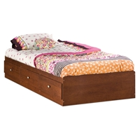 Jumper Twin Mates Bed in Classic Cherry