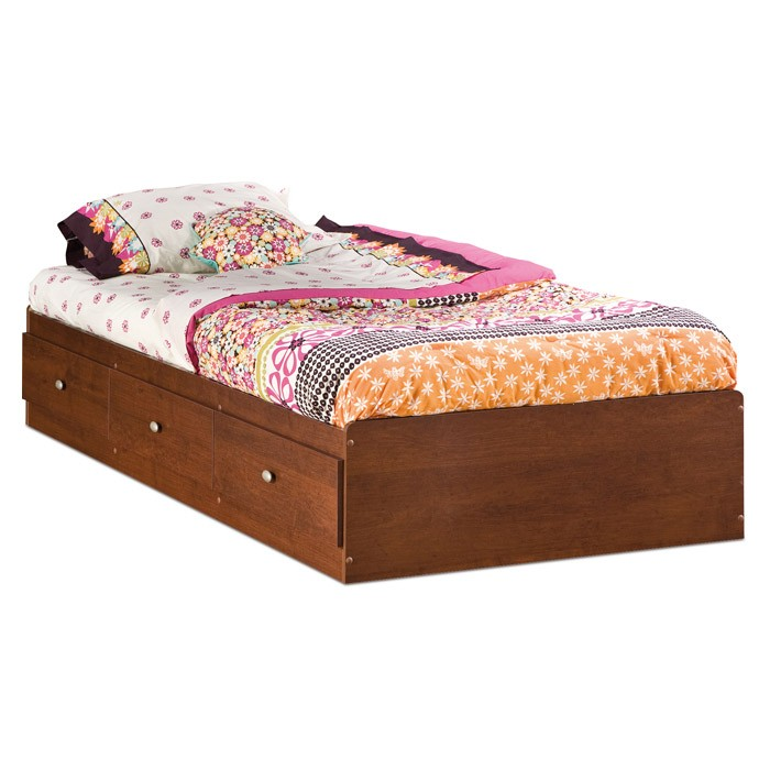 Jumper Twin Mate's Bed in Classic Cherry - SS-3268212