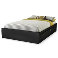 Spark Full Mate%27s Bed in Black