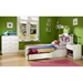 Logik White Twin Mate's Bed with 2 Drawers - SS-3360213