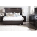 Gloria Queen Platform Bed - Chocolate - SS-3659203
