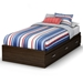 Highway Twin Size Mate's Platform Bed - SS-3679212