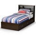Highway Twin Size Bed with Storage Headboard - SS-3679212-3679098
