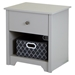 Vito 1 Drawer Nightstand - Soft Gray - SS-9021062