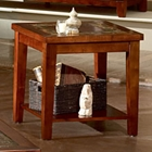 Davenport Slate Inlay Top End Table