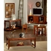 Davenport Chairside End Table in Dark Cherry - SSC-DA200E