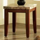 Montibello Marble Top End Table