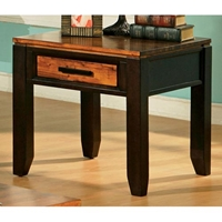 Abaco Square Top End Table