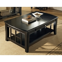 Cassidy Black Cocktail Table