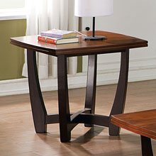 Kenzo Two Tone End Table