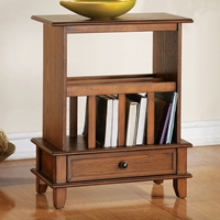 Jordan Chairside End Table with Bookshelf