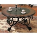 Rosemont Cocktail Table with Two Toned Round Top - SSC-RM200C