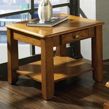 Nelson Wood End Table