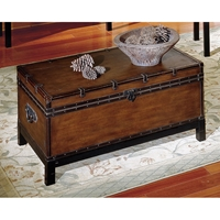 Voyage Storage Trunk Style Cocktail Table