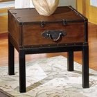 Voyage End Table in Antique Cherry