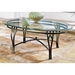 Madrid Cocktail Table with Metal Base - SSC-SR250CTB-SR250CBB