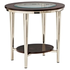 Norton Round Top End Table
