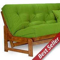 arden wood futon frame armless heritage - Wood Futon Frames