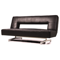 Terrence Fold-Out Espresso Sofa Bed
