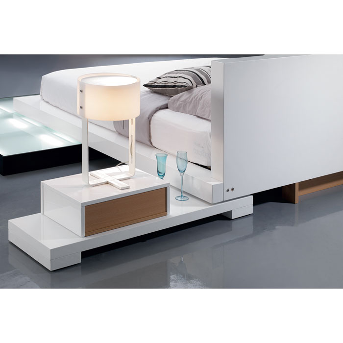 Galaxy Bed with Walk-On Light Platform - VIG-GALAXY-BED