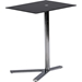 Avolia Snack Table - Black Glass Top - WI-AKING-59848