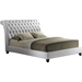 Jazmin Nailheads Platform Bed - Button Tufted - WI-BBT6293-LT-BED
