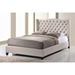 Norwich Linen Platform Bed - Button Tufted - WI-BBT6344-BED