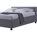 Brisbane Fabric Storage Platform Bed - 2 Drawers - WI-BBT6347