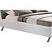Bruno Platform Bed - White, Gray - WI-BBT6410-GRAY-WHITE