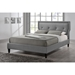 Marquesa Fabric Platform Bed - Button Tufted - WI-BBT6421-BED