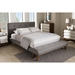 Reena Platform Bed - Built-In Bench, Button Tufted - WI-BBT6654-BED