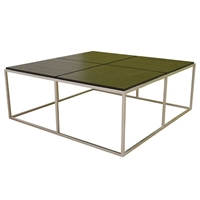 Pavlova Contemporary Square Coffee Table