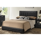 Carlson Queen Platform Bed - Black