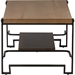 Gibson Rectangular Coffee Table - Brown, Black - WI-CA-1126-CT