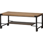 Gibson Rectangular Coffee Table - Brown, Black