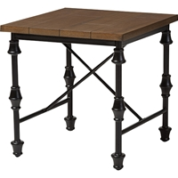 Julian Occasional Side Table - Brown, Black